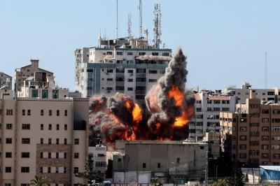 Κόλαση πολέμου στη Μέση Ανατολή – Στους 144 οι νεκροί  - Κατέρρευσε κτίριο που στεγάζει το Al Jazeera και το AP