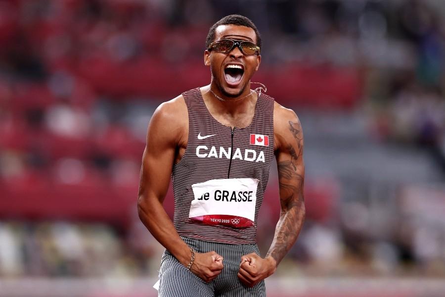 200 μέτρα: Χρυσός Ολυμπιονίκης ο «άπιαστος» Ντε Γκρας!