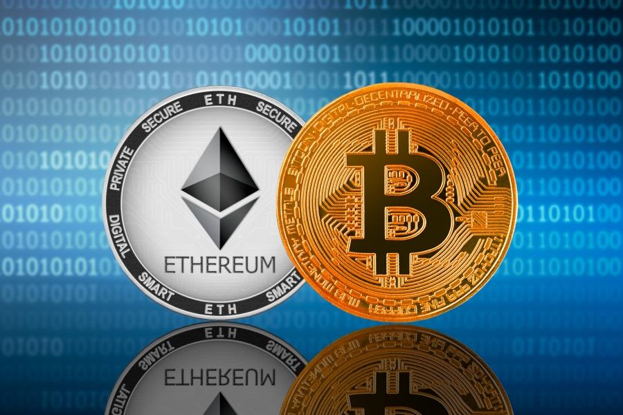 Έσπασε ξανά το ορόσημο των 40.000 δολ. το Bitcoin - Θεαματική αύξηση στον όγκο συναλλαγών του Ethereum