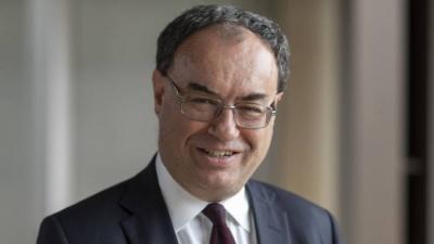 Bailey (BoE): Δεν σκεφτόμαστε τα αρνητικά επιτόκια