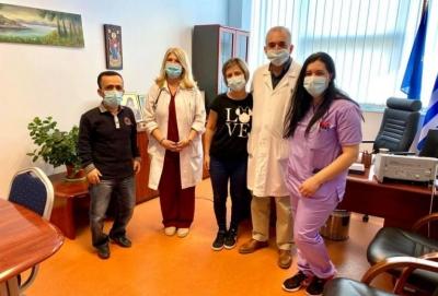 Κέρκυρα: Εξιτήριο για την νοσηλεύτρια που είχε παρουσιάσει παράλυση μετά τον εμβολιασμό της