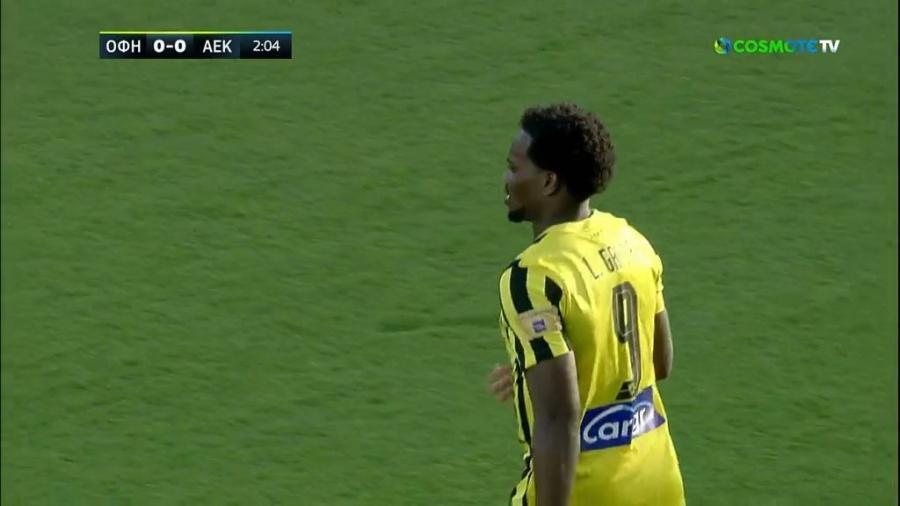 ΟΦΗ – ΑΕΚ 0-0: Ο Λιβάι Γκαρσία προσπάθησε να «κρεμάσει» τον Επασί (video)