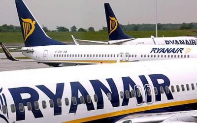Ryanair: Σε λειτουργία το πλήρες πρόγραμμα των πτήσεων της από Αθηνα