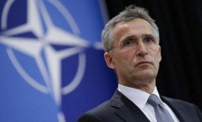 Stoltenberg (NATO): Καμία χώρα και καμία ήπειρος δεν μπορεί να αντιμετωπίσει μόνη τις απειλές και τις προκλήσεις