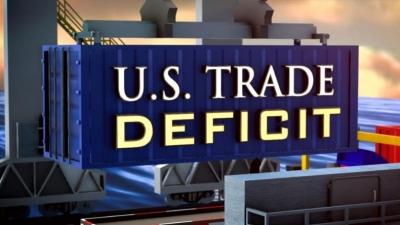 ΗΠΑ: Κατά 1,9% στα 68,2 δισ. δολ. διευρύνθηκε στο εμπορικό έλλειμμα τον Ιανουάριο