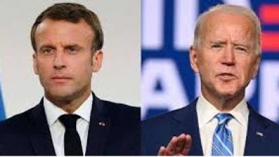 Πρόταση συμβιβασμού στην υπόθεση Airbus - Boeing από τον Macron (Γαλλία) στον Biden (ΗΠΑ)