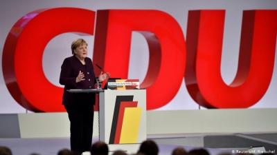 Γερμανία: Veto από το CDU στο σχέδιο της Merkel για επέκταση της άρσης στο «φρένο χρέους»