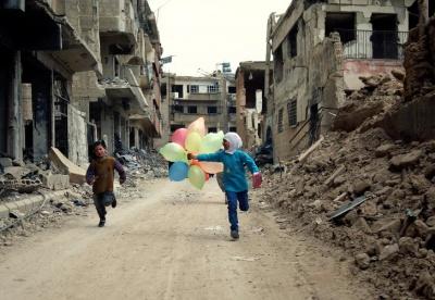 Πόλεμος στη Συρία: 5 εκατομμύρια παιδιά έχουν εκτοπιστεί εντός της χώρας ή έχουν γίνει πρόσφυγες