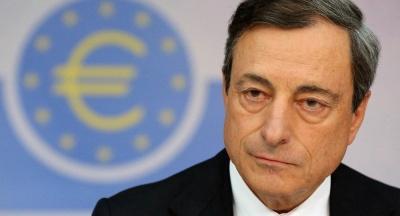 Draghi (ΕΚΤ): Κρίσιμη για την κεφαλαιακή επάρκεια των ελληνικών τραπεζών η διαχείριση των NPEs