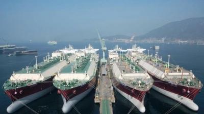 Μειώθηκε 2,6% η δύναμη του εμπορικού στόλου τον Νοέμβριο του 2020