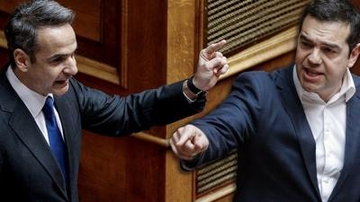 Μετωπική Μητσοτάκη – Τσίπρα στη Βουλή για πυρκαγιές, πανδημία – Υπόλογος ο πρωθυπουργός