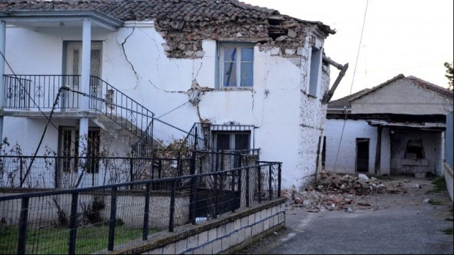 Θεσσαλία: 1.575 ακατάλληλα σπίτια από τον σεισμό