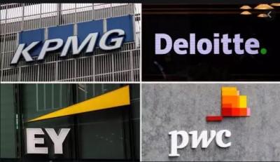 Καταρρέει το οικοδόμημα των Big Four στις εταιρίες ορκωτών - Έρχεται πέλεκυς και στην Ελλάδα