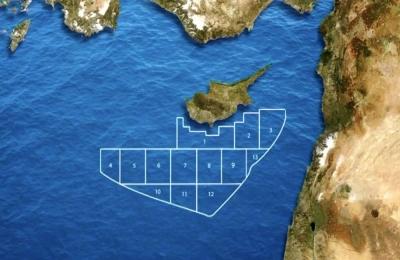 Κύπρος: Έναρξη μελέτης για μεταφορά του φυσικού αερίου από το οικόπεδο 12 στην Αίγυπτο