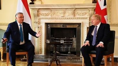 Johnson (Βρετανία) προς Orban: Ανησυχώ για την κατάσταση των ανθρωπίνων δικαιωμάτων στην Ουγγαρία