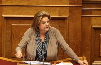 Κατσέλη: Δεν θα είμαι υποψήφια σε ευρωεκλογές και εθνικές εκλογές