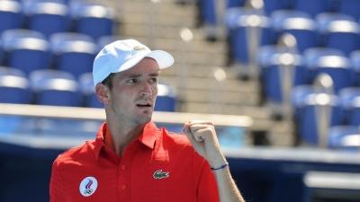 Τένις: Πλησιάζει στο «χρυσό» ο Μεντβέντεφ