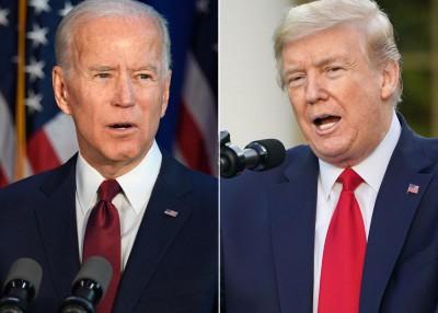 Εκλογές ΗΠΑ: Μικρό προβάδισμα Biden έναντι του Trump σε τέσσερις κρίσιμες πολιτείες