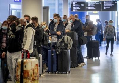 Η Γερμανία επιβάλλει νέους ταξιδιωτικούς περιορισμούς στη Βρετανία, λόγω της ινδικής μετάλλαξης