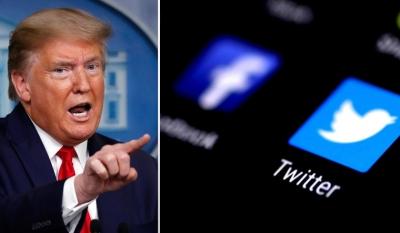 Γερμανία και Γαλλία κατά Twitter για το κλείσιμο του λογαριασμού του Trump