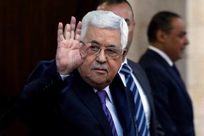 Επανεξελέγη πρόεδρος της PLO o Mahmoud Abbas