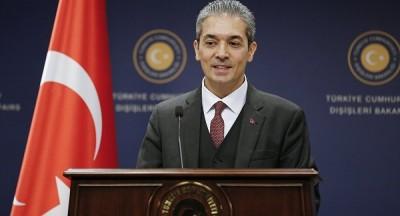 Aksoy (Τουρκία): Είμαστε υπέρ του διαλόγου - Η Ελλάδα υπαναχώρησε με πρόσχημα τις έρευνες του Oruc Reis