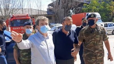 Σαφή μηνύματα από Έβρο - Παναγιωτόπουλος: Θωρακιζόμαστε απέναντι σε κάθε απειλή - Χρυσοχοΐδης: Τα σύνορα θα παραμείνουν απαραβίαστα