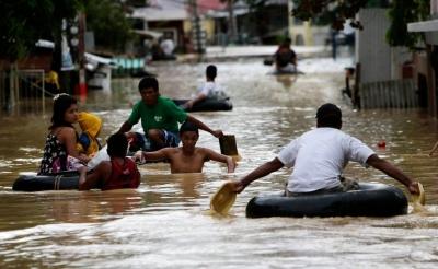 Φιλιππίνες: Χιλιάδες άνθρωποι απομακρύνθηκαν από τις εστίες τους, λόγω των ισχυρών βροχοπτώσεων