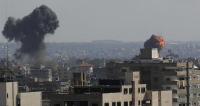 Σιγή ιχθύος από τη διπλωματία - Στρατηγικούς στόχους στη Λωρίδα της Γάζας σφυροκοπεί το Ισραήλ, ρουκετοπόλεμος από Χαμάς