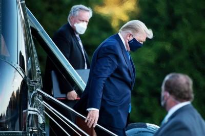 Trump - κορωνοϊός:  Κρίσιμα ερωτήματα γύρω από την ασθένεια και την πορεία του προέδρου των ΗΠΑ