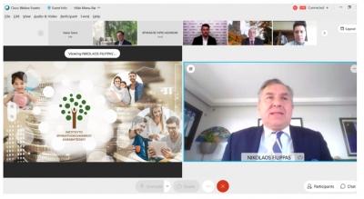 Ολοκληρώθηκε με επιτυχία το διεθνές διαδικτυακό συνέδριο του Ινστιτούτου Χρηματοοικονομικού Αλφαβητισμού