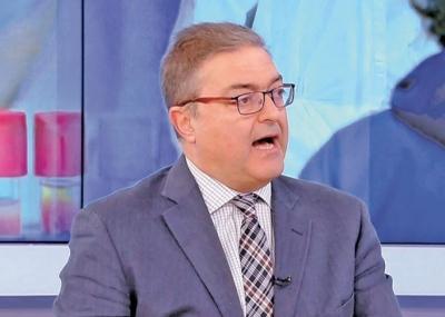 Βασιλακόπουλος: Χωρίς self test όσοι έχουν εμβολιαστεί - Μικρότερη από 1% η πιθανότητα να βγουν θετικοί