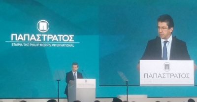 Καλαντζόπουλος (πρόεδρος Philip Morris): Εμπιστευόμαστε την Παπαστράτος και την Ελλάδα – Γι' αυτό επενδύουμε κεφάλαια