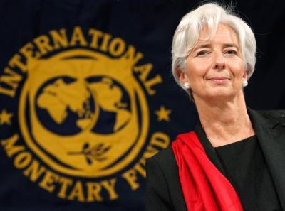 Lagarde (ΔΝΤ): Αναδιάρθρωση του χρέους για να είναι βιώσιμη η ελληνική οικονομία - Να αντιμετωπιστούν σθεναρά τα NPLs