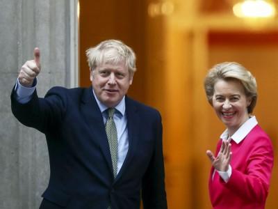 Brexit: Johnson και Von den Leyen συμφώνησαν σε επανάληψη των συνομιλιών για άρση του αδιεξόδου