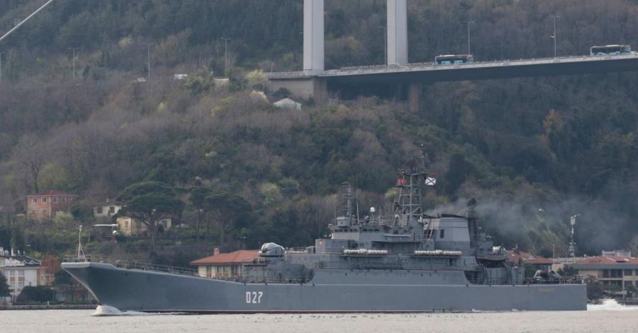 Η Ρωσία ενισχύει τη ναυτική της παρουσία στη Μαύρη Θάλασα με δύο ακόμη πλοία