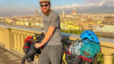 Απίστευτο: Έκλεψαν ποδήλατο ακτιβιστή στη Θεσσαλονίκη που ταξίδευε για φιλανθρωπικό σκοπό!