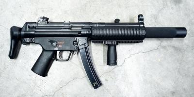 Heckler & Koch MP5 - Μέτρο σύγκρισης