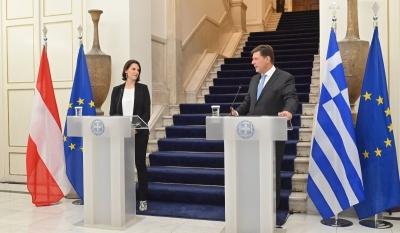 Βαρβιτσιώτης: «Να ανοίξουν γρήγορα οι ενταξιακές διαπραγματεύσεις με την Αλβανία και τη Βόρεια Μακεδονία»
