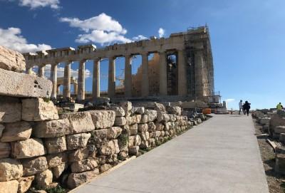 Υπ. Πολιτισμού για το έργο στην Ακρόπολη: Οι διαμορφώσεις ακολουθούν τα αρχαιολογικά δεδομένα