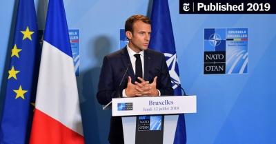 Macron (Γαλλία): «Πιστεύω στο ΝΑΤΟ», αλλά με αυτονομία της ευρωπαϊκής πολιτικής ασφάλειας