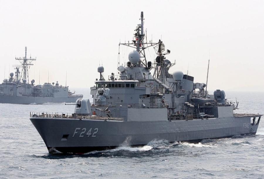 Κρίσιμο τεστ για την Τουρκία:  Γαλλικό πλοίο για έρευνες σε έκταση νοτιοδυτικά της Κρήτης