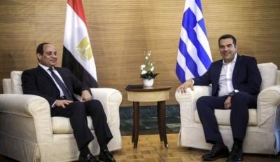 Συνάντηση Τσίπρα με el-Sisi, στο επίκεντρο η κρίση στην Ανατολική Μεσόγειο