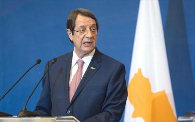 Αναστασιάδης: Η Κύπρος είναι αποφασισμένη για γόνιμο διάλογο, προς ένα ανεξάρτητο και κυρίαρχο κράτος
