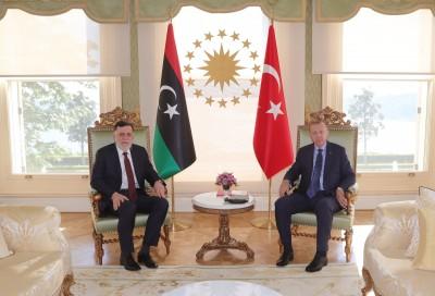 Επίσκεψη Sarraj στην Κωνσταντινούπολη ενόψει της παραίτησης του και η συνάντηση με Erdogan