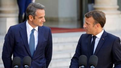 Κλείδωσε για τις 10/9 η κρίσιμη συνάντηση Μητσοτάκη – Macron για τις τουρκικές προκλήσεις