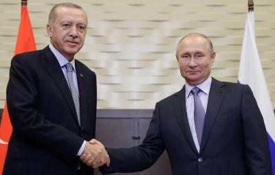 Κρεμλίνο: Σήμερα 29/9 τελειώνει η καραντίνα Putin, πριν τη συνάντηση με Erdogan