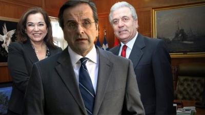 Σαμαράς - Αβραμόπουλος «πονοκέφαλοι» για τον Μητσοτάκη – Γιατί φοβούνται ρήγμα στη ΝΔ και ο ρόλος της απλής αναλογικής