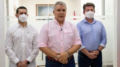 Κολομβία: «Άνανδρη» χαρακτήρισε ο πρόεδρος Duque την επίθεση που ισχυρίζεται ότι δέχτηκε το ελικόπτερό του