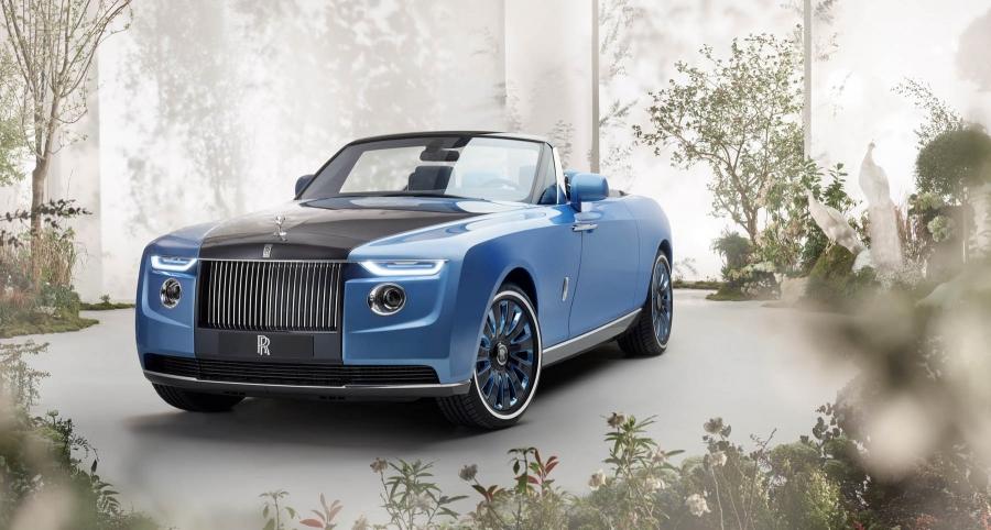 Αυτή είναι η Rolls Royce Boat Tail των 23 εκ. ευρώ!